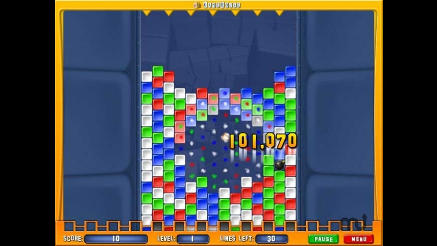 Collapse! Crunch for Mac - review, screenshots