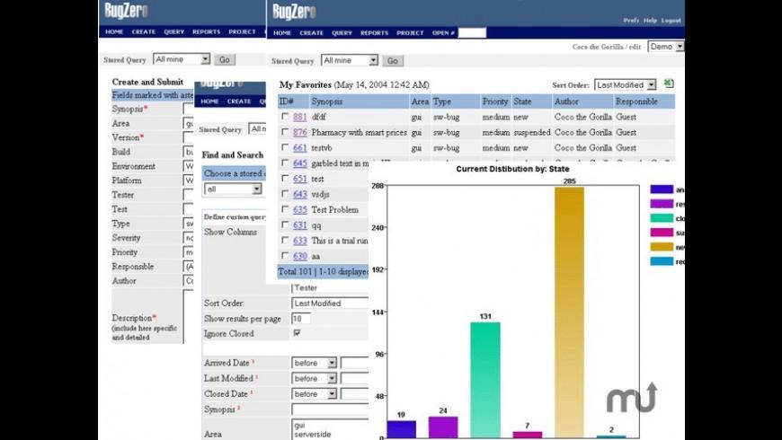 Bugzero for Mac - review, screenshots