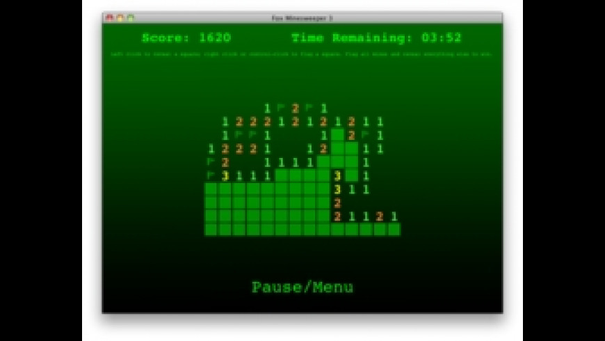 Fox Minesweeper for Mac - review, screenshots