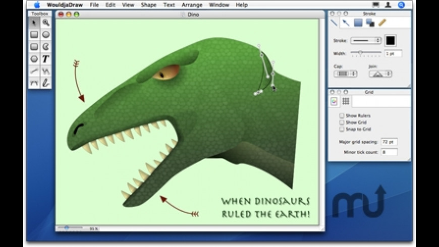 WouldjaDraw for Mac - review, screenshots
