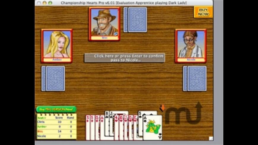 Championship Hearts Pro for Mac - review, screenshots