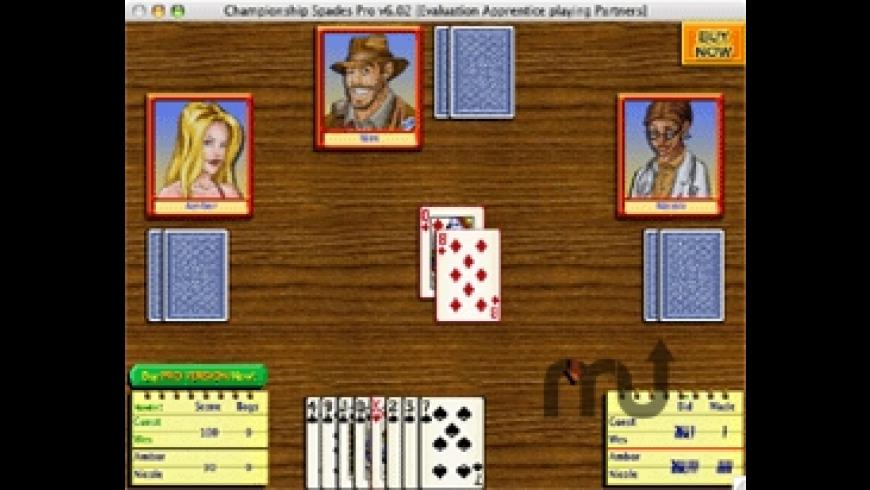 Championship Spades Pro for Mac - review, screenshots