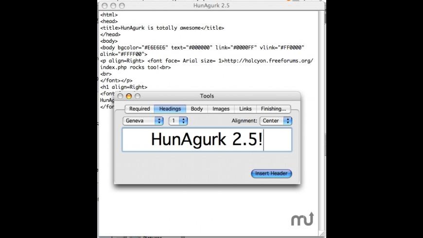 HunAgurk for Mac - review, screenshots