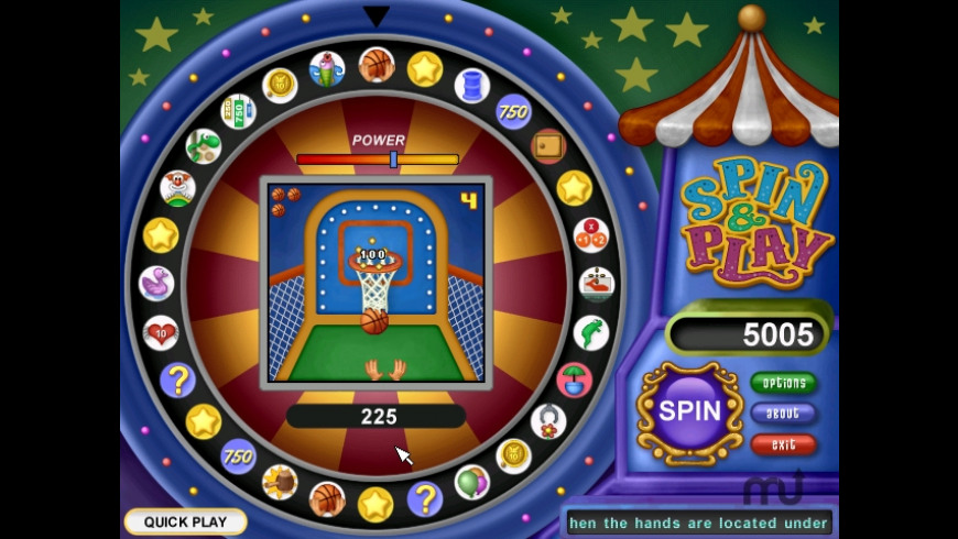 Spin & Play - Carnival Madness for Mac - review, screenshots