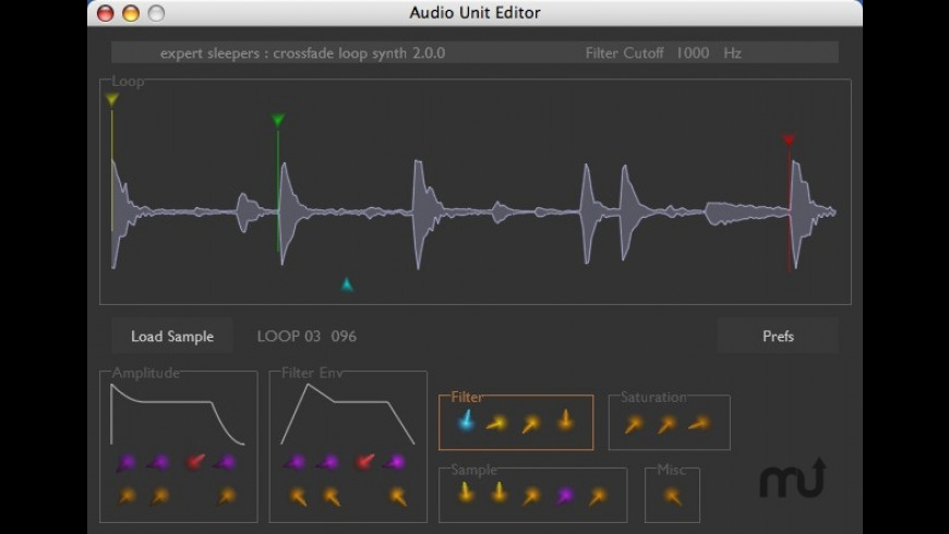 Crossfade Loop Synth for Mac - review, screenshots