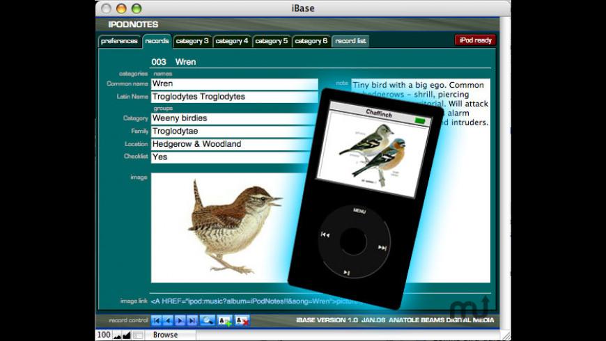 iBase for Mac - review, screenshots