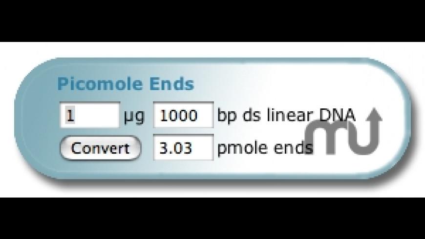Picomole Ends Widget for Mac - review, screenshots