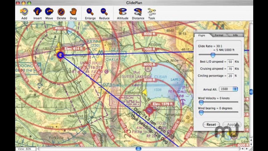 GlidePlan for Mac - review, screenshots