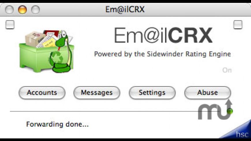 Em@ilCRX for Mac - review, screenshots
