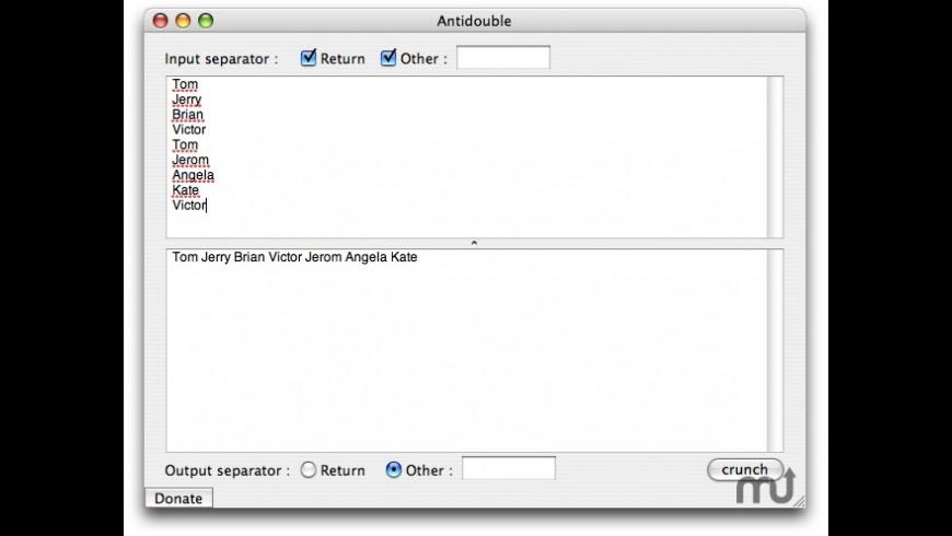 Antidouble for Mac - review, screenshots