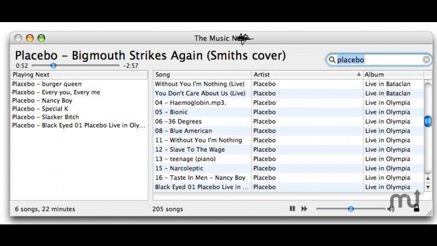 The Music N*** for Mac - review, screenshots