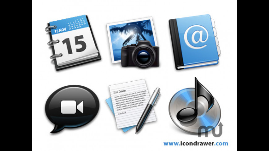 Black&Blue Icons for Mac - review, screenshots