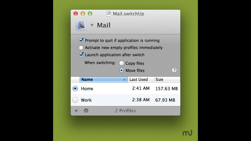 SwitchUp for Mac - review, screenshots