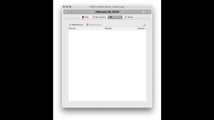 CRONoMeter for Mac - review, screenshots
