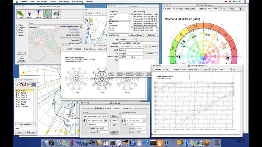 Cenon Astro for Mac - review, screenshots