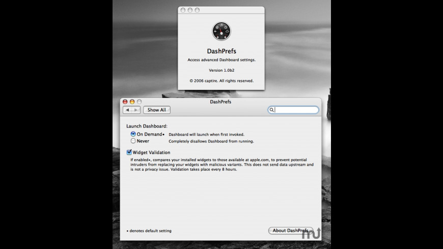 DashPrefs for Mac - review, screenshots