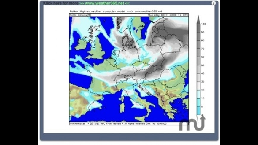 Weathermaps for Mac - review, screenshots