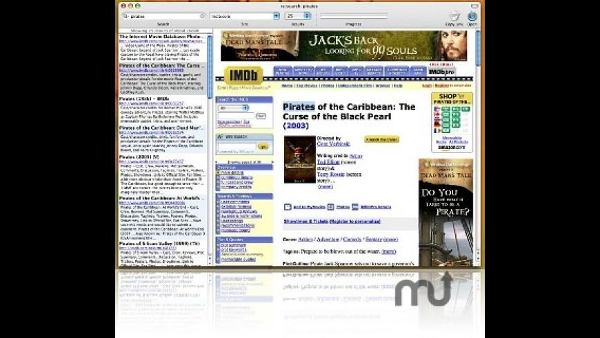 re:search for Mac - review, screenshots