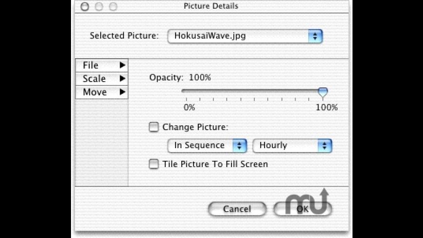 DeskPicture for Mac - review, screenshots