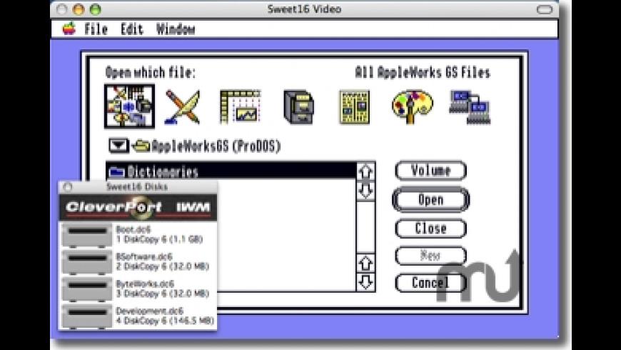 Sweet16 for Mac - review, screenshots