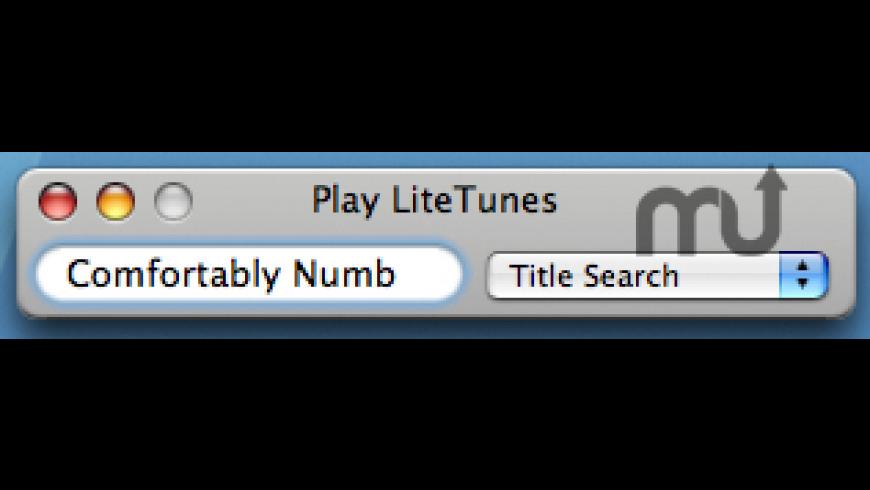 Play LiteTunes for Mac - review, screenshots