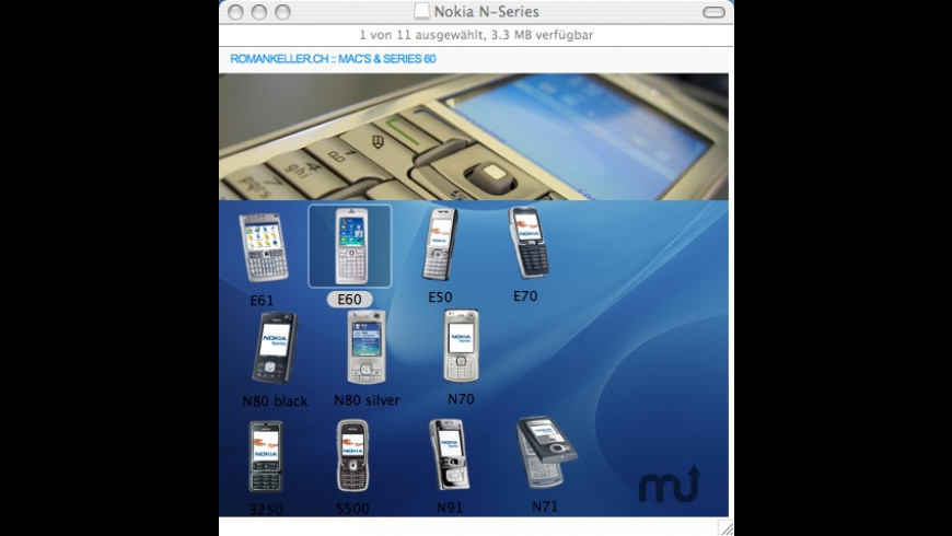 Nokia Icons for Mac - review, screenshots
