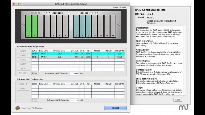 RAIDaid for Mac - review, screenshots