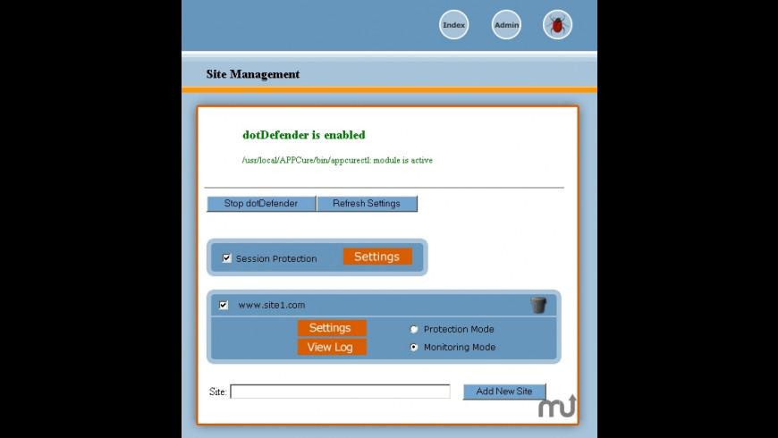 dotDefender for Mac - review, screenshots