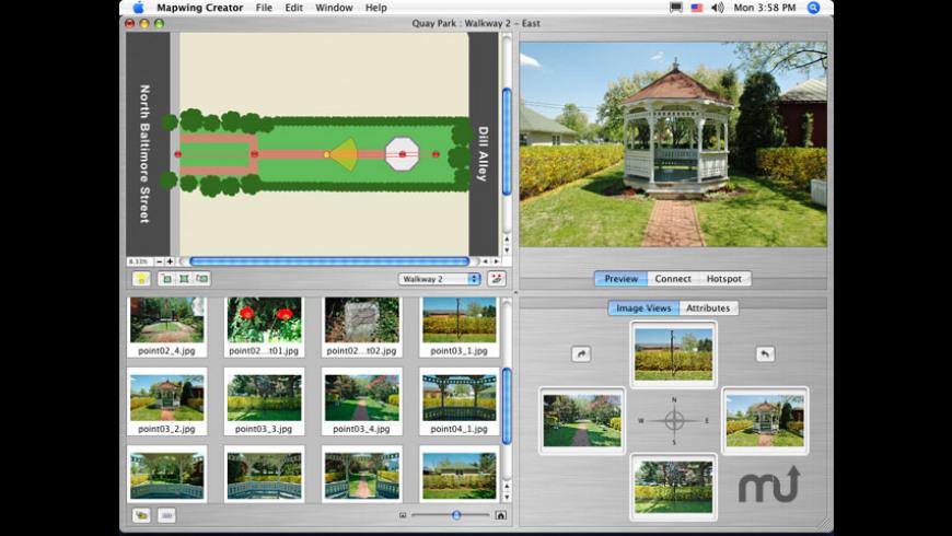 Mapwing Creator for Mac - review, screenshots