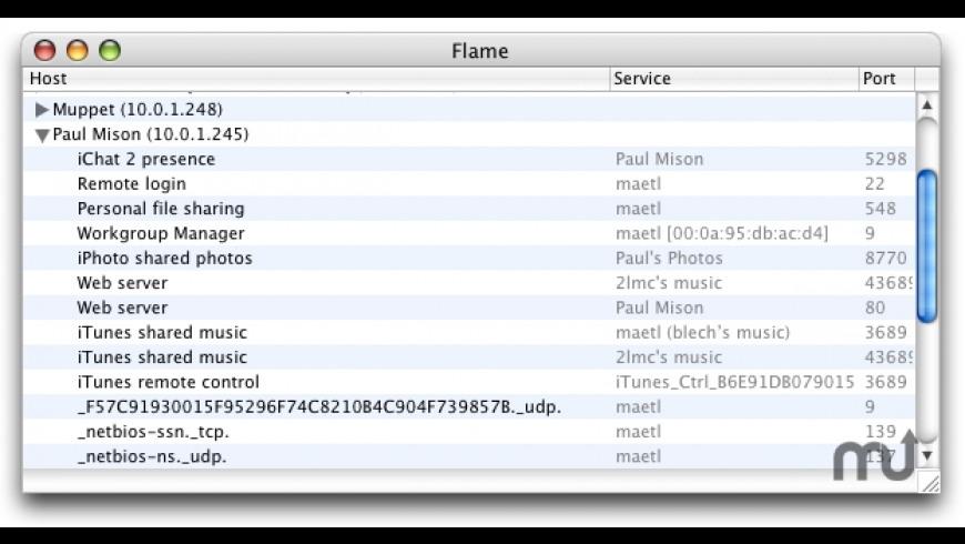 Flame for Mac - review, screenshots