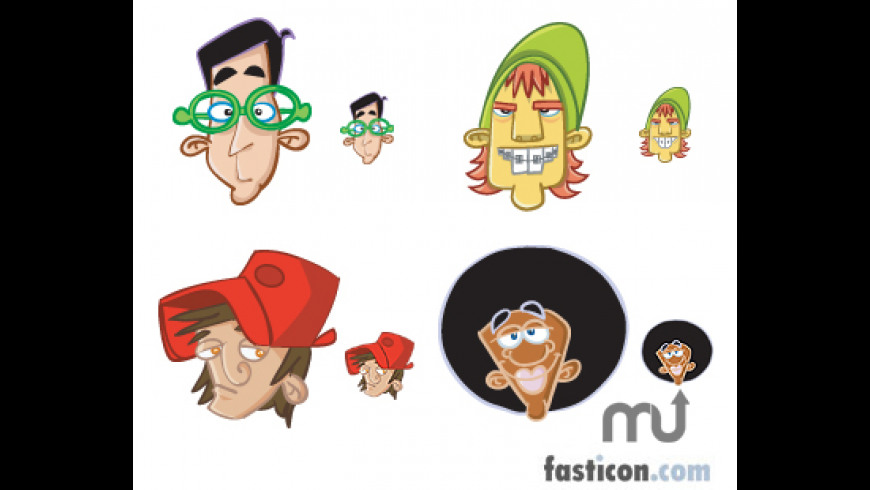 Avatar Boys Icons for Mac - review, screenshots