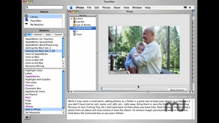 TeachMac for Mac - review, screenshots