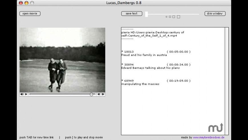 Lucas_Dambergs for Mac - review, screenshots