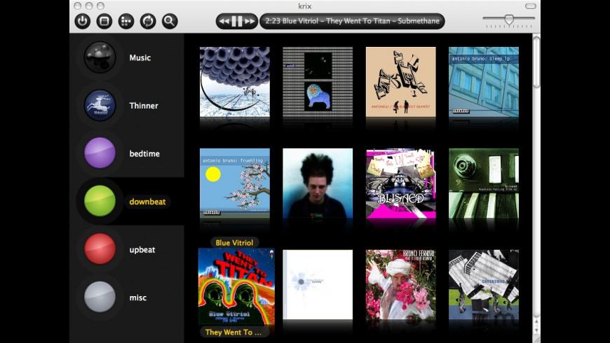 krix for Mac - review, screenshots