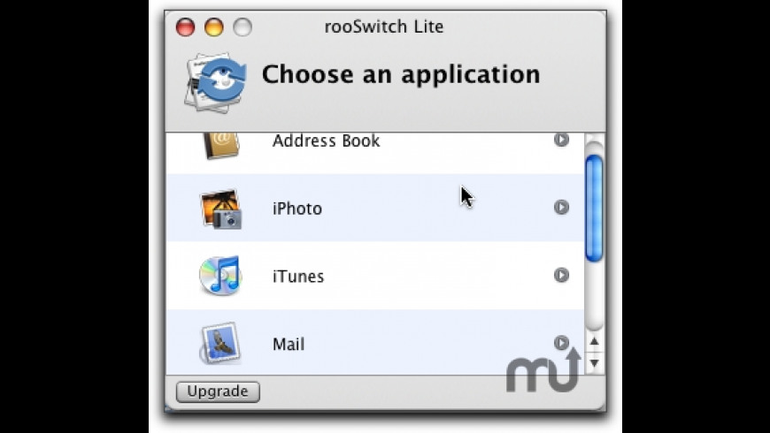 rooSwitch Lite for Mac - review, screenshots