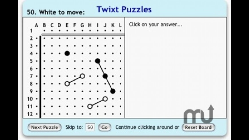 Twixt Puzzles for Mac - review, screenshots