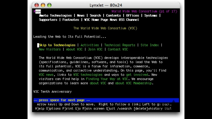 Lynxlet for Mac - review, screenshots