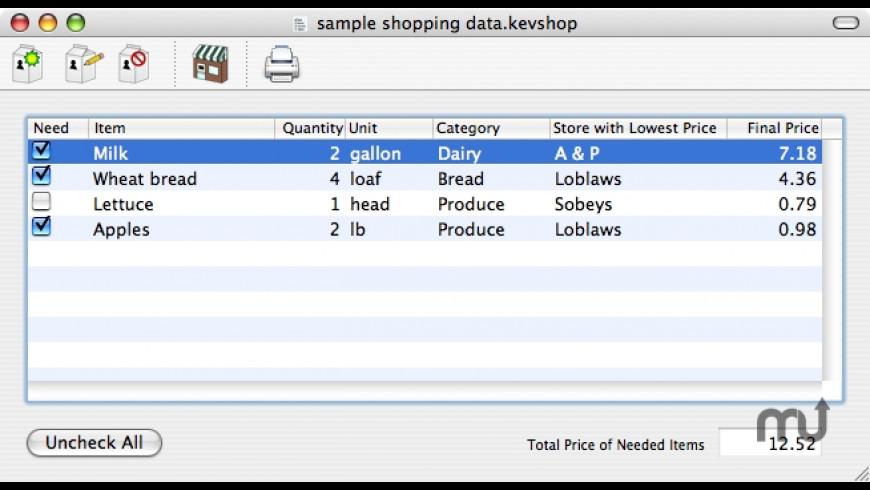 KevShop for Mac - review, screenshots