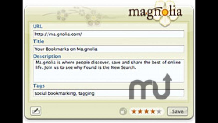 Ma.gnolia Ma.rker for Mac - review, screenshots
