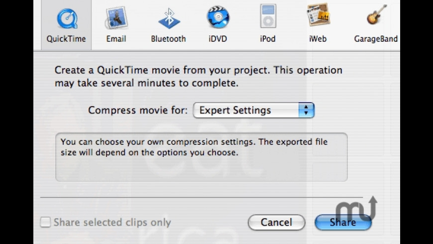 Pooch QuickTime Exporter for Mac - review, screenshots