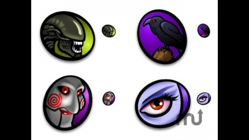 Bride of Macabre Halloween Icons for Mac - review, screenshots