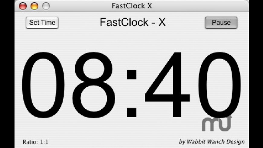 FastClock X for Mac - review, screenshots