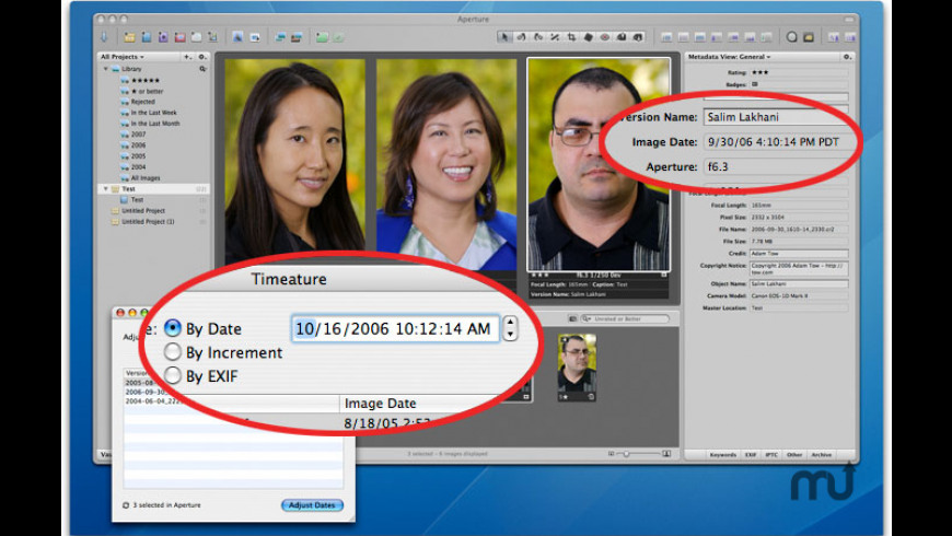 Timeature for Mac - review, screenshots