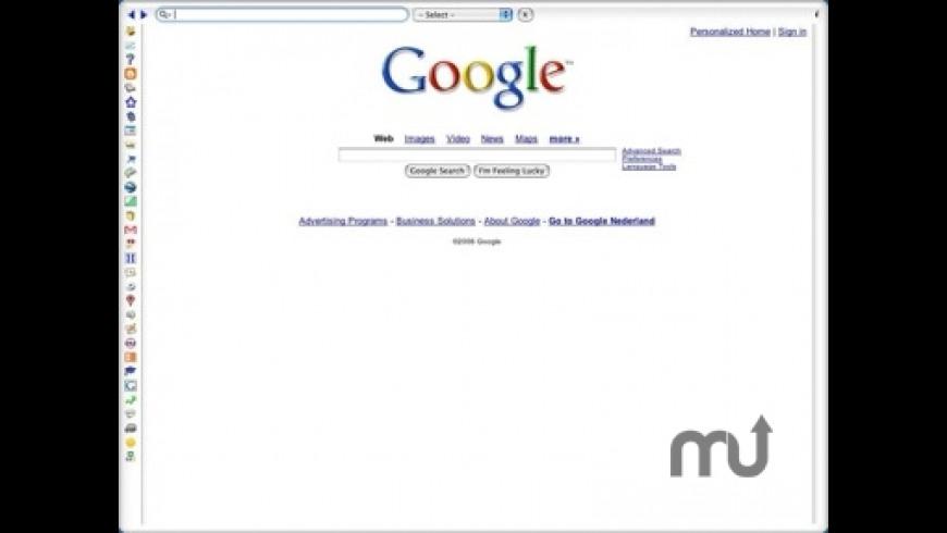 Goggle Browser Widget for Mac - review, screenshots