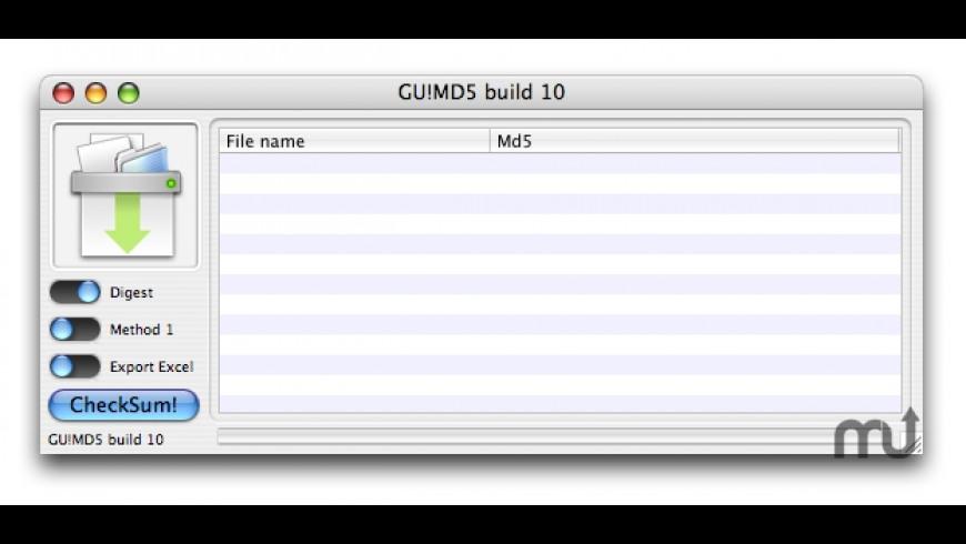 GU!MD5 for Mac - review, screenshots