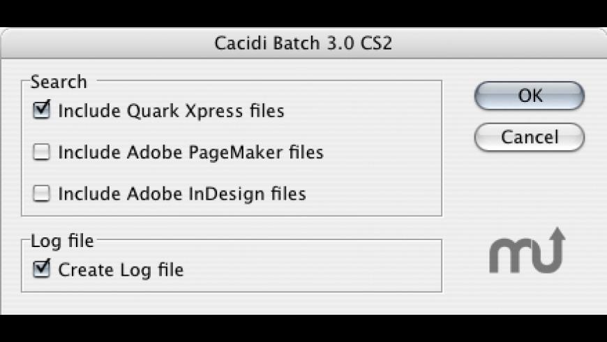 Cacidi Batch for Mac - review, screenshots