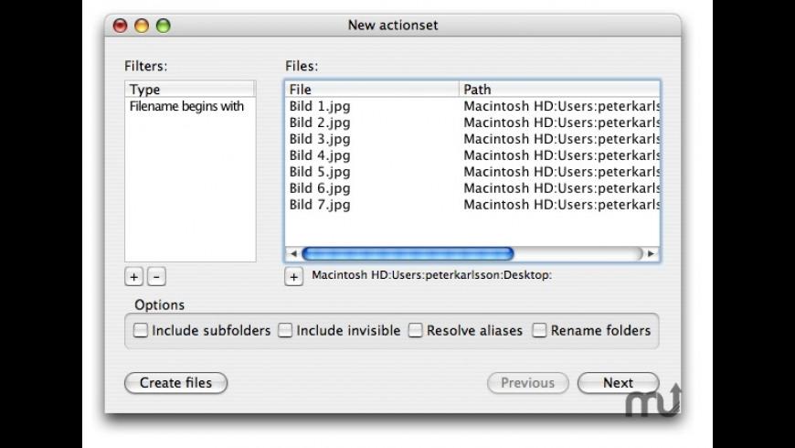 FileAction for Mac - review, screenshots