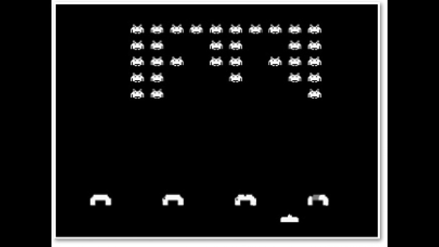 Space Invaders Screen Saver for Mac - review, screenshots