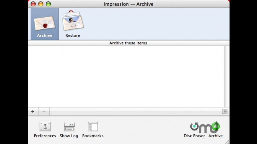 Impression for Mac - review, screenshots