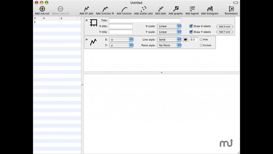 DataPlot for Mac - review, screenshots
